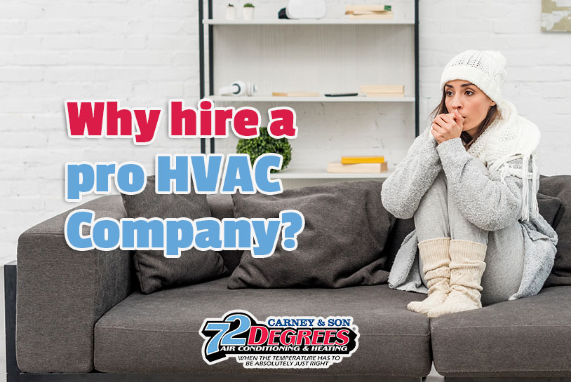 Why Hire a Pro for Heating and air conditioning Summerville SC?