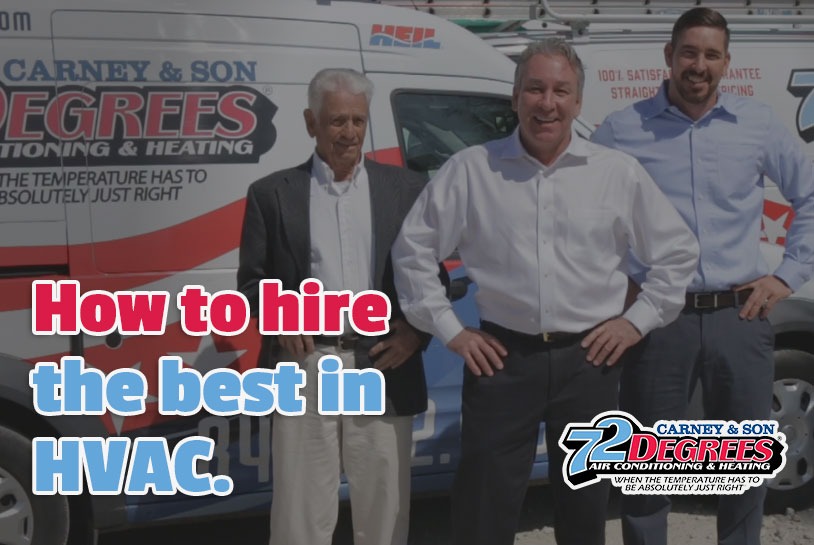 Service Matters. Here's how to hire one of the Best HVAC Companies in Charleston, SC