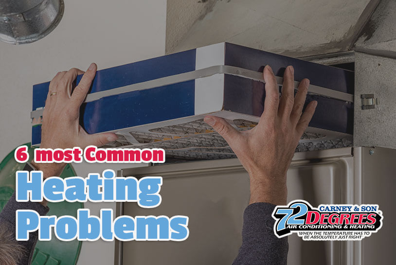6 of the Most Common Heating Problems in Homes