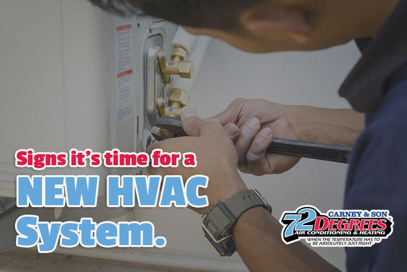 5 Signs it is Time for a New HVAC System